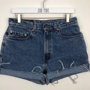 Levi's Denim Cutoff Jean Shorts